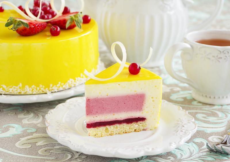 Муссовый клубничный торт рецепт пошагово