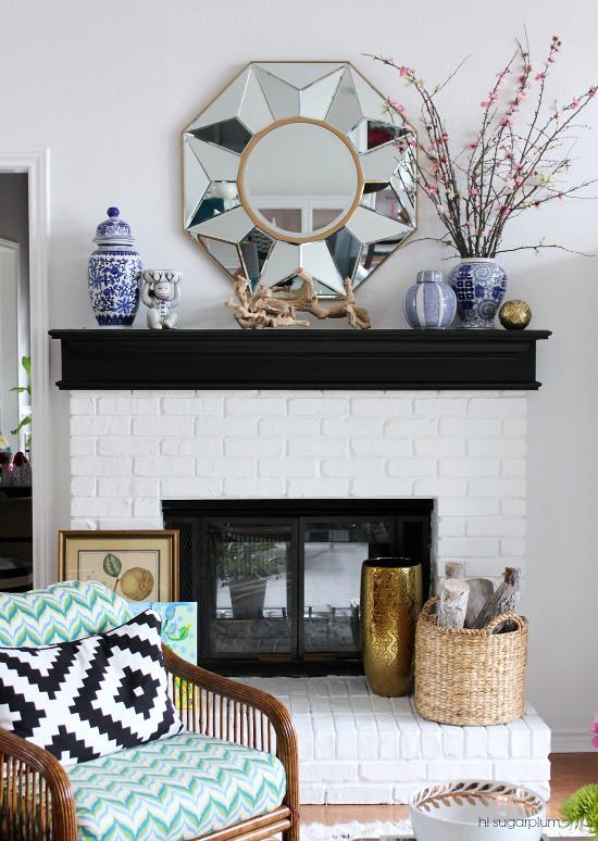 Hi Sugarplum | Colorful Living Room