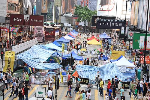 Umbrella Revolution (Causeway Bay)