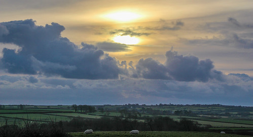 uk sunset sky sun wales clouds canon landscape south 100d andygocher canon100dsigma18250