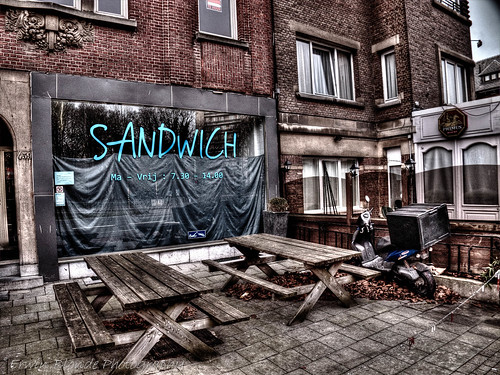Sandwich Bar, Streetphotography, HDR; EX-1