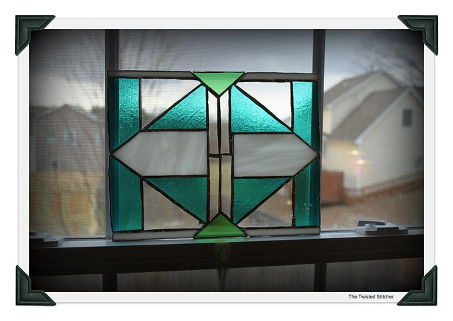 Ian's Geometrical Stain Glass Window