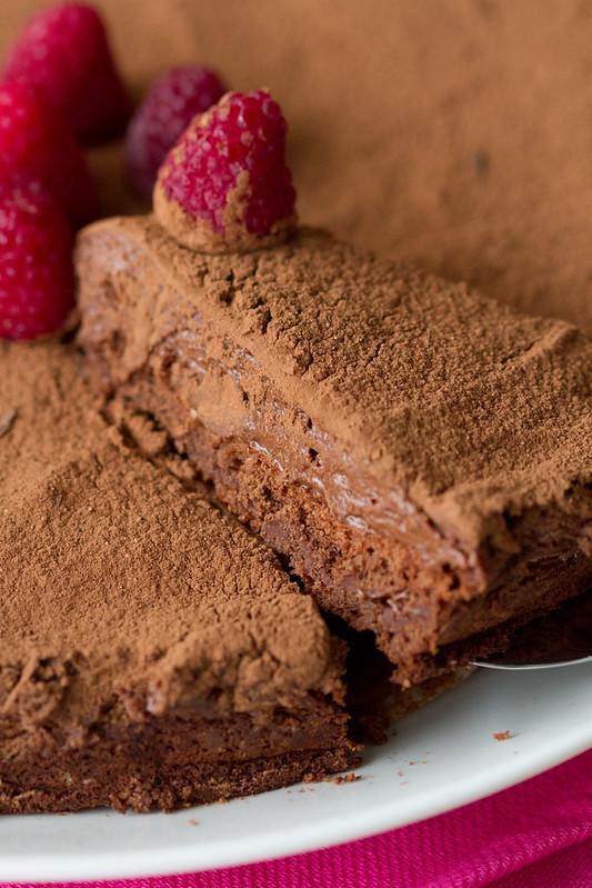 Gâteau Marcel. Chocolate mousse cake. Šokolaadikook.