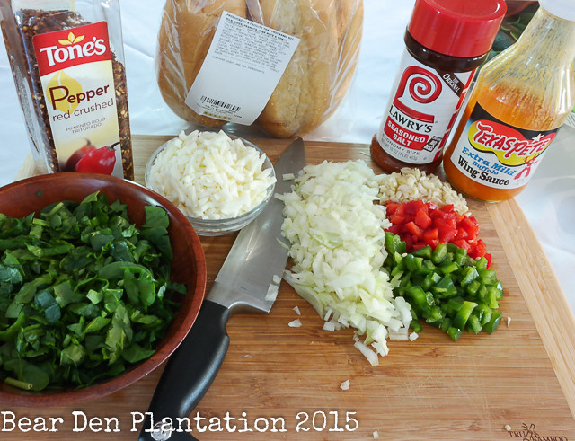Spicy Chicken Sub ingredients
