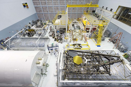 JWST Pathfinder Backplane