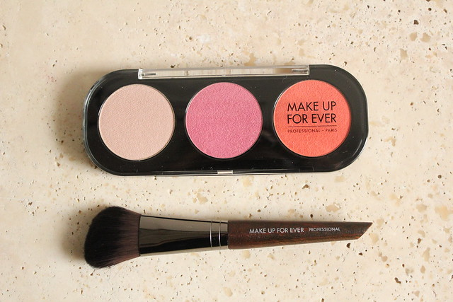 Make Up For Ever Desire Me Cheek Set swatches