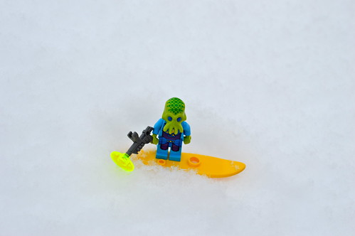 Alien surfer