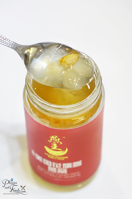 grand imperial bird nest with american ginseng texture