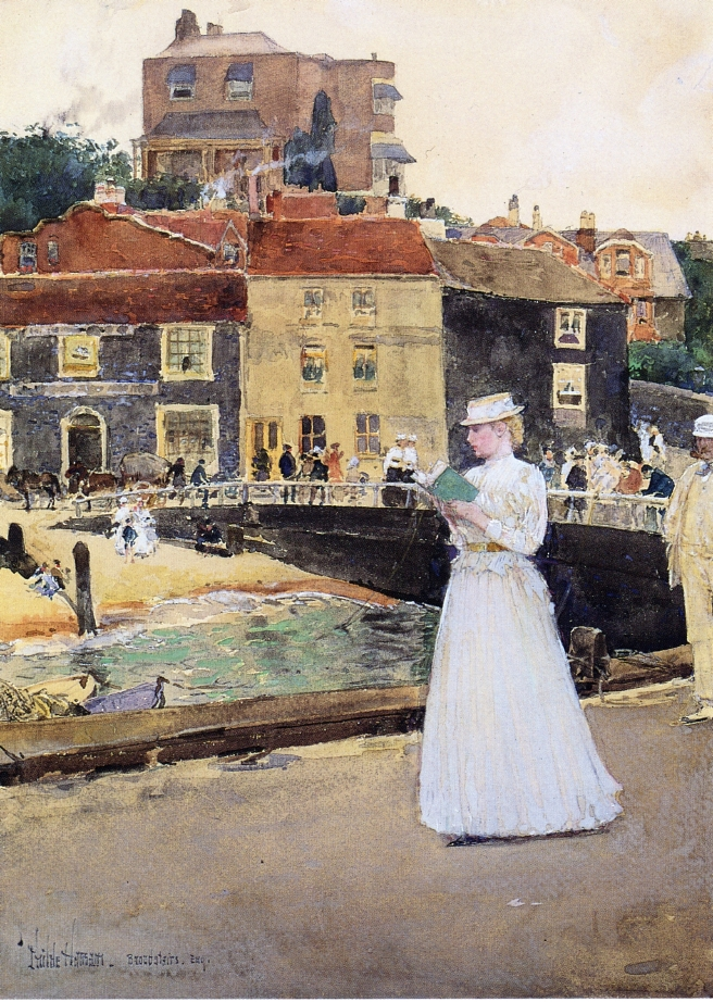 Bleak House, Broadstairs by Frederick Childe Hassam