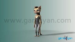 Maya Cartoon Character Rigging Animation - Cat Workout Tutorial