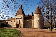 Rhône - Château de Corcelles en Beaujolais