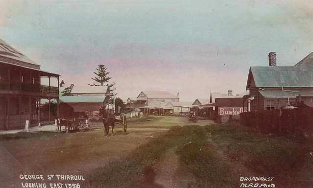 George St Thirroul undated [RAHS Photograph Collection]