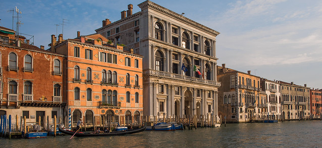 Venetian Palaces along Grand Canal