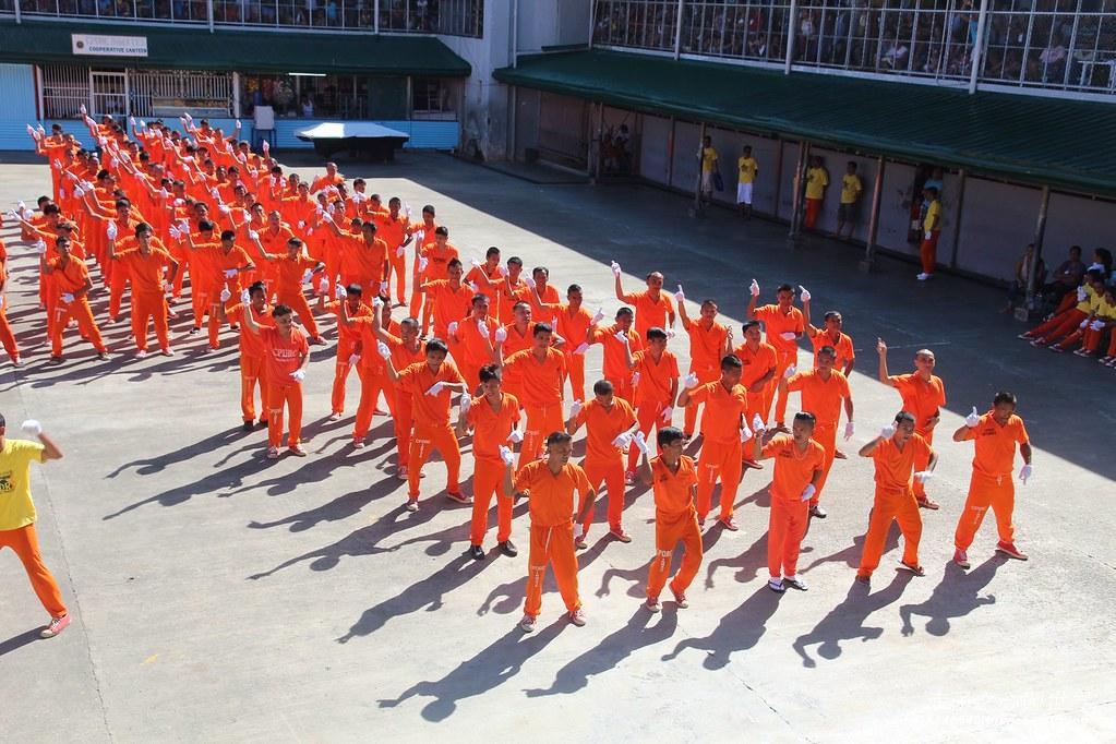 菲律賓宿霧監獄舞-07