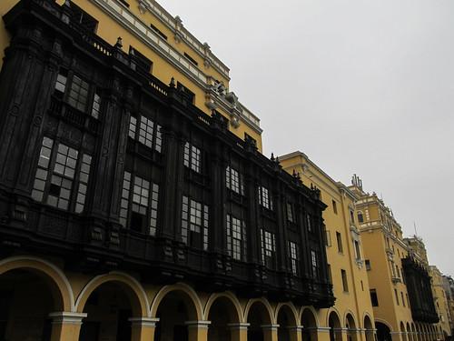 Lima: la Plaza Mayor dans le centre historique