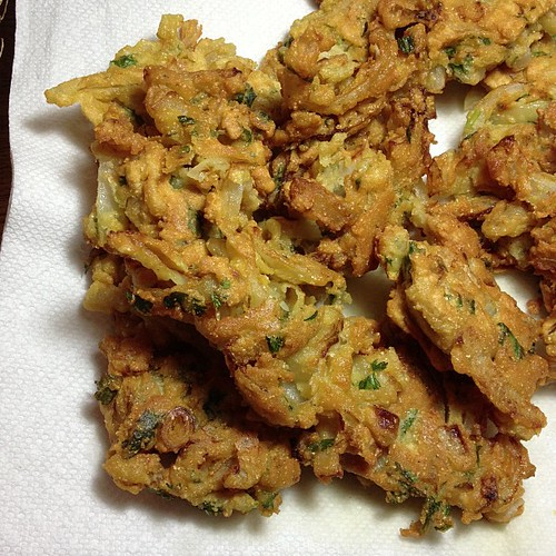 Onion Fritters! #vegan