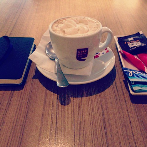 The #coffee and the #journal