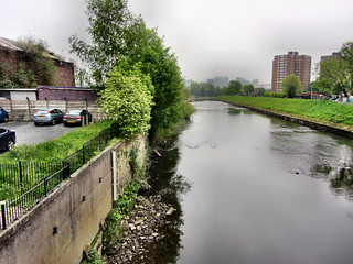 from Broughton bridge, Manchester