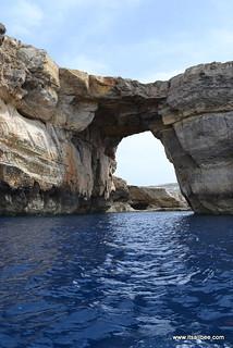 Azure Window via Boat