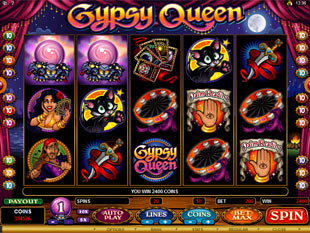 Gypsy Queen Bonus Game Prize