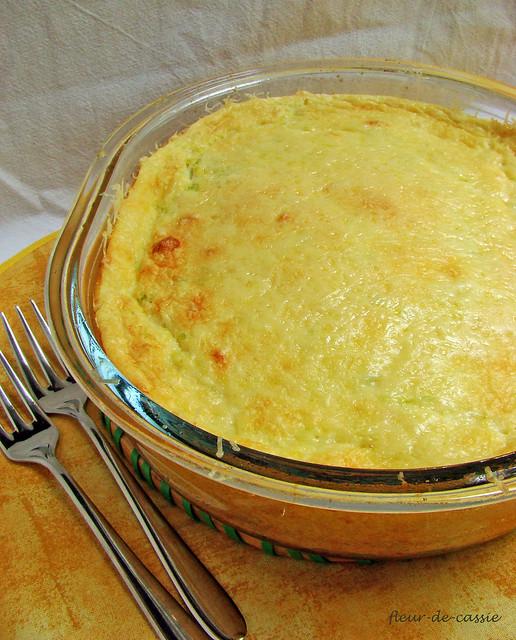 пудинг-суфле из кабачков 1