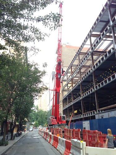 Ubiquitous West Village crane