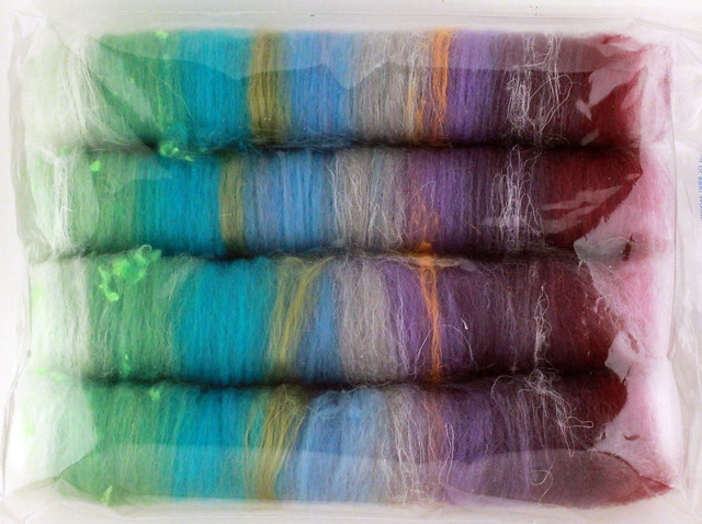 Textured Rolled Batts