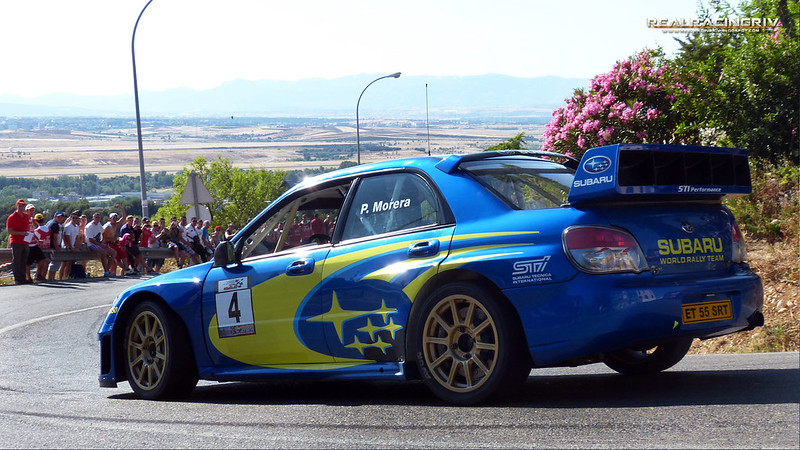 Subida a Paracuellos de Jarama - Pedro Morera - Subaru Impreza WRC
