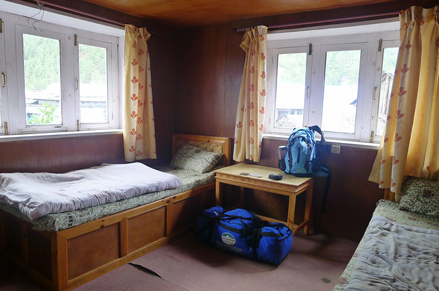 my room at Phakding