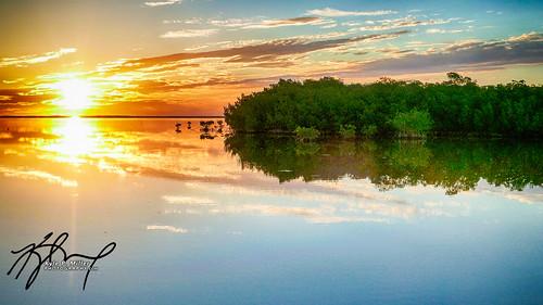 ocean sunrise florida mangrove hdr floridakeys bigpinekey