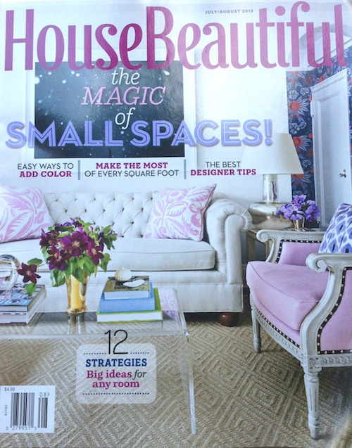 House Beautiful July August 2013