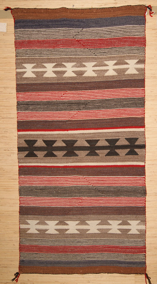 211-Navajo-Double-Saddle-Blanket-From-The-Lukachukai-Area-001
