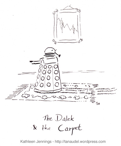 The Dalek and the Carpet