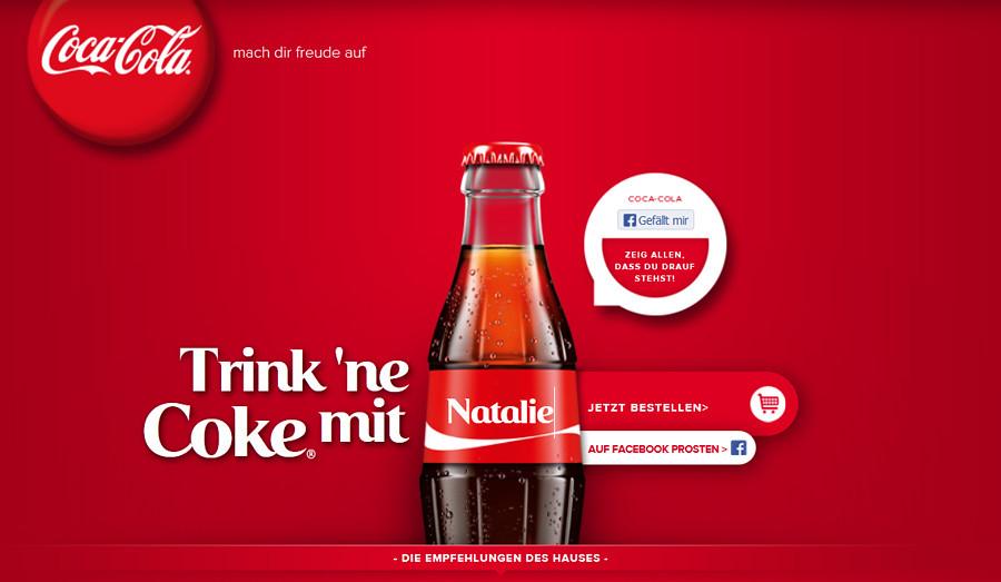 Trink Cola mit...