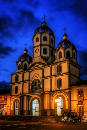 Salento Church, Quindio, Colombia by szeke