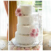 My Wedding Dress and Cake by Barney's Bakery