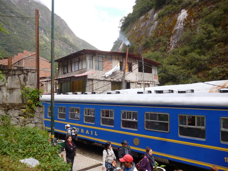 "The ""ugly"" town of Aguas Calientes"