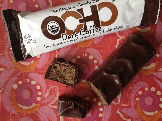 Ocho Dark Coffee candy bar by Susie Wyshak