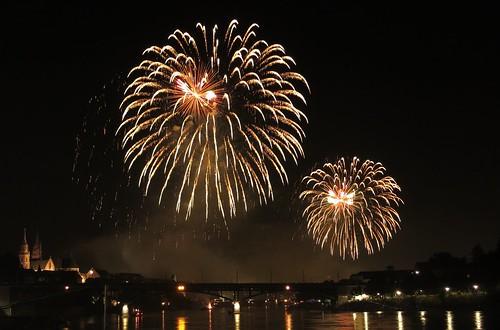Feuerwerk Basel 2013