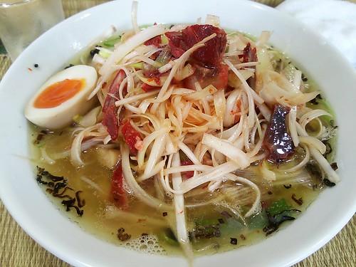 ra130801東京いまむら 葱塩煮干しSP拉麺