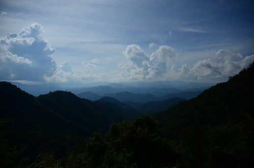 travel blue sky mountain thailand chiangmai viewpoint could
