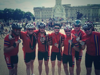 Ride London Finish