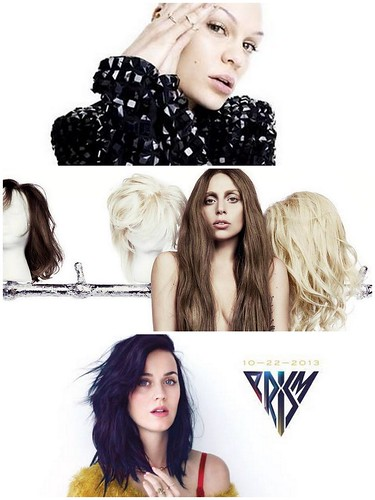 Pop Ladies: Jessie J, Lady Gaga and Katy Perry