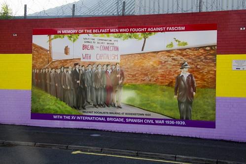 Belfast y España