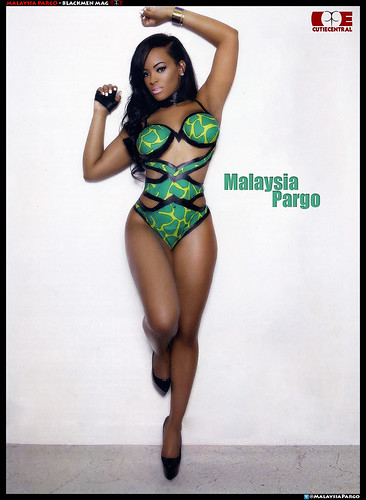 Malaysia Pargo Blackmen Magazine pictures . VH1 Basketball Wives LA
