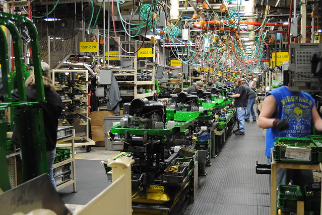John Deere Assembly Line : John deere assembly line flickr photo sharing