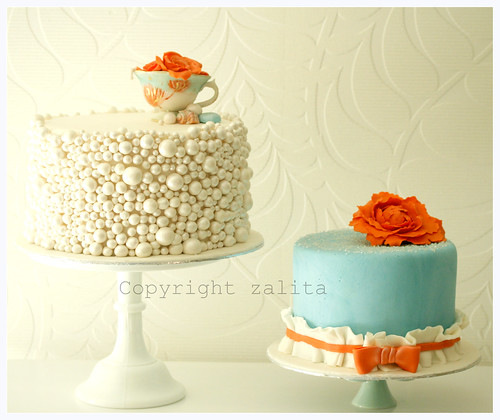 bridal tea cakes by {zalita}