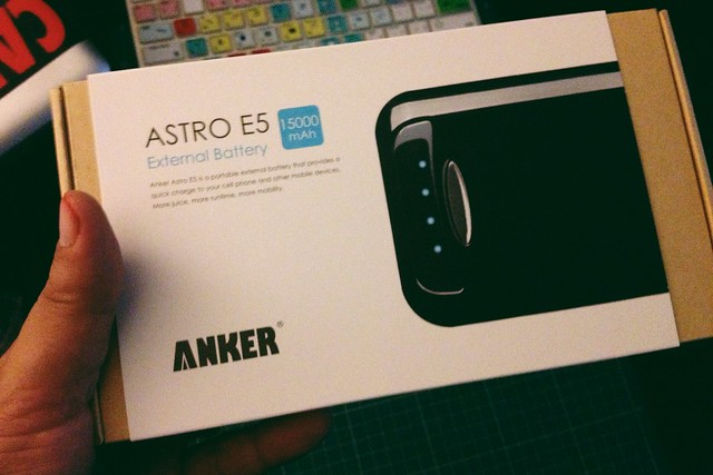 Anker Astro, unboxing - 無料写真検索fotoq