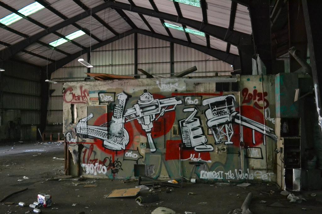 UTER, Graffiti, Oakland, The Yard