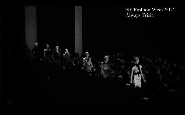 NY Fashion Week 2014 Always Trizia001